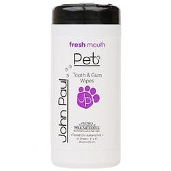 John Paul Pet Tooth and Gum Wipes