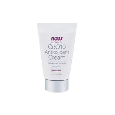 NOW Foods Solutions CoQ10 Antioxidant Cream - 2 fl oz