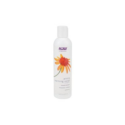 NOW Foods - Arnica Warming Relief Massage Oil - 8 oz.