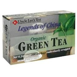 Uncle Lees Tea 0679050 Legends of China Organic Green Tea - 100 Tea Bags