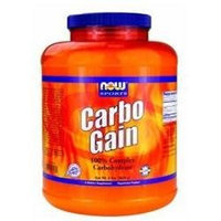 NOW Foods - Carbo Gain 100 Complex Carbohydrate - 8 lbs.