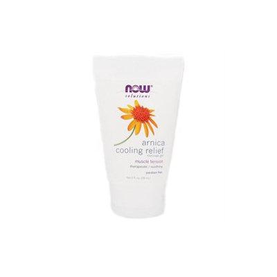 NOW Foods - Arnica Cooling Relief Massage Gel - 2 oz.