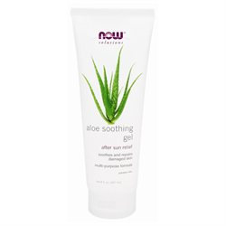 NOW Foods - Aloe Soothing Gel Skin Nourishing After Sun Relief - 8 oz.