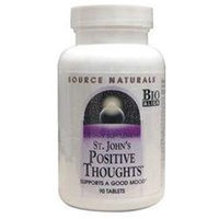 Source Naturals St John's Positive Thoughts - 90 Tablets