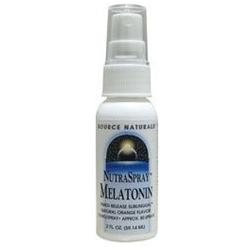 Source Naturals - NutraSpray Melatonin Natural Orange 1.5 mg. - 2 oz.