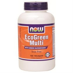 NOW Foods Eco-Green Multivitamin Tabs