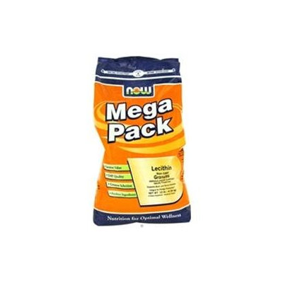 NOW Foods - Lecithin Granules Mega Pack Non-GMO - 10 lbs.