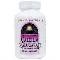 Source Naturals Calcium D-Glucarate 500mg, Tablets, 120 ea