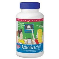 Source Naturals Attentive Child Sweet & Tart Chewable Wafers