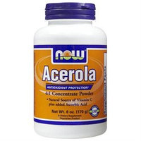 NOW Foods - Acerola Powder Antioxidant Protection - 6 oz.