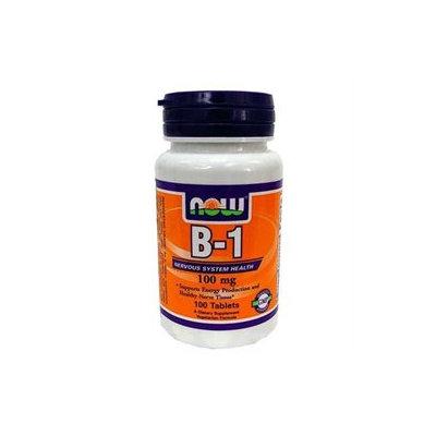 NOW Foods - Vitamin B-1 Thiamine 100 mg. - 100 Tablets