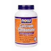 NOW Foods - Calcium Carbonate Powder - 12 oz.