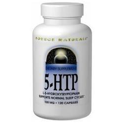 Source Naturals 5-HTP - 100 mg - 30 Capsules