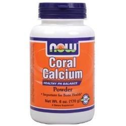 NOW Foods - Coral Calcium Pure Powder - 6 oz.