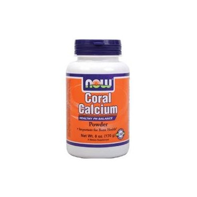 NOW Foods - Coral Calcium Pure Powder - 6 oz.