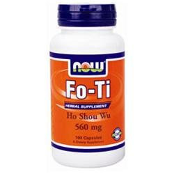 Now Foods Fo-ti, 100 Capsules / 560mg (pack Of 3)