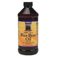 NOW Foods - Rice Bran Oil - 100 Pure - 16 oz.