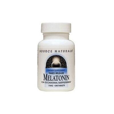 Source Naturals Melatonin Timed Release - 3 mg - 240 Tablets