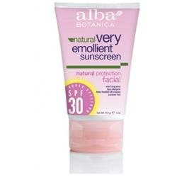 Alba Botanica Very Emollient Facial Sunscreen
