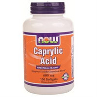 NOW Foods Caprylic Acid 600 mg Softgels
