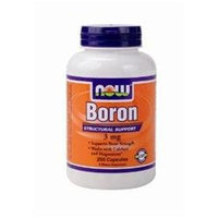 NOW Foods - Boron 3 mg. - 250 Capsules