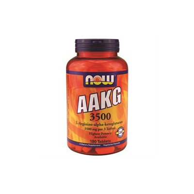 NOW Foods - AAKG 3500 mg. - 180 Tablets