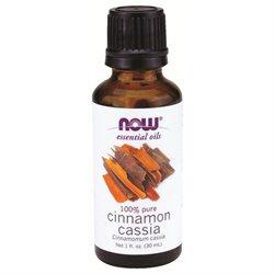 NOW Foods Essential Oils Cinnamon Cassia - 1 fl oz