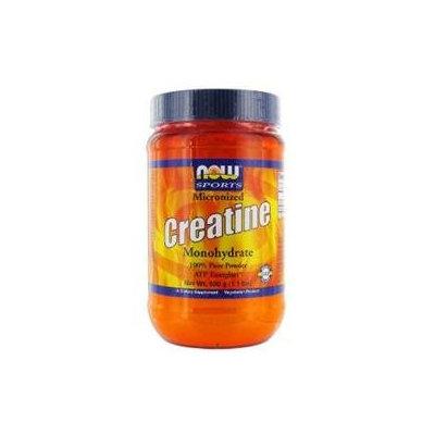 NOW Foods - Micronized Creatine Mononhydrate 100 Pure Powder - 1.1 lbs.