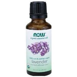 NOW Foods - Lavender Oil Organic - 1 oz.