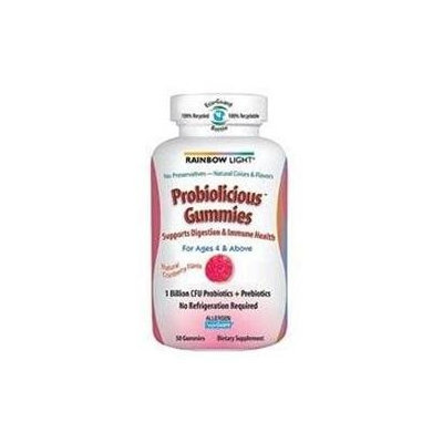 Frontier Rainbow Light Probiolicious Gummies Natural Cranberry - 50 Gummies