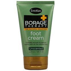 Shikai Products 55782 Borage Dry Skin Foot Cream