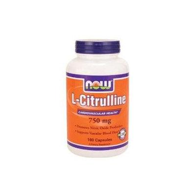 NOW Foods L-Citrulline 750 mg Caps