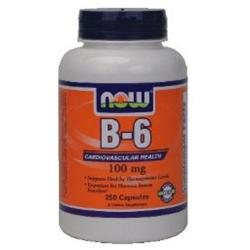 NOW Foods Vitamin B-6 100 mg Caps