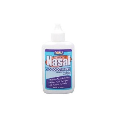 NOW Foods Solutions Activated Nasal Mist - 2 fl oz