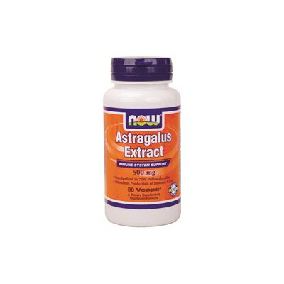 NOW Foods Astragalus Extract 500 mg VCaps