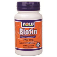 NOW Foods Biotin 1,000 mcg Caps