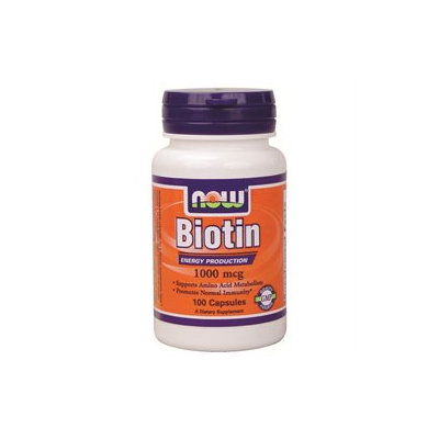 NOW Foods Biotin 1,000 mcg Caps