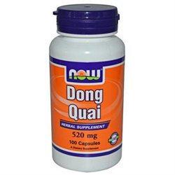 NOW Foods - Dong Quai 520 mg. - 100 Capsules