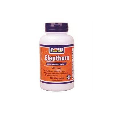 NOW Foods - Eleuthero 500 mg. - 100 Capsules