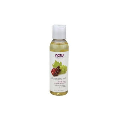 NOW Foods Solutions Grapeseed Oil - 4 fl oz