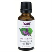 NOW Foods - Lavender-Tea Tree Oil - 1 oz.
