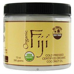 Organic Fiji Cold Pressed Cooking Oil 13 Oz