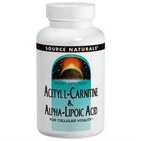 Source Naturals Acetyl L-Carnitine & Alpha-Lipoic Acid