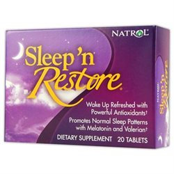 Natrol Sleep 'n Restore, Tablets, 20 ea