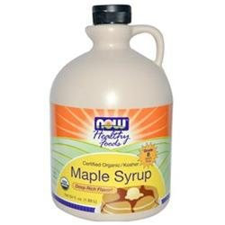 NOW Foods Organic Maple Syrup Pure B