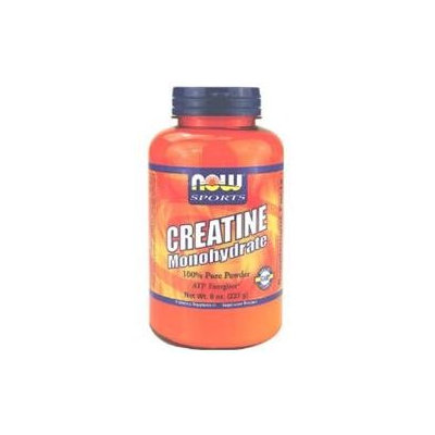 NOW Foods Creatine Monohydrate Pure Powder