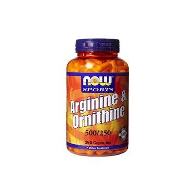 NOW Foods - Arginine & Orthinine 500/250 mg - 250 Capsules