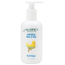 Aubrey Organics Natural Baby & Kids Bath Soap