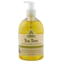 Clearly Natural - Liquid Glycerine Soap with Pump Tea Tree - 12 oz.