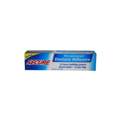 Secure AY43393 Secure Denture Bonding Cream -1x1. 4 Oz